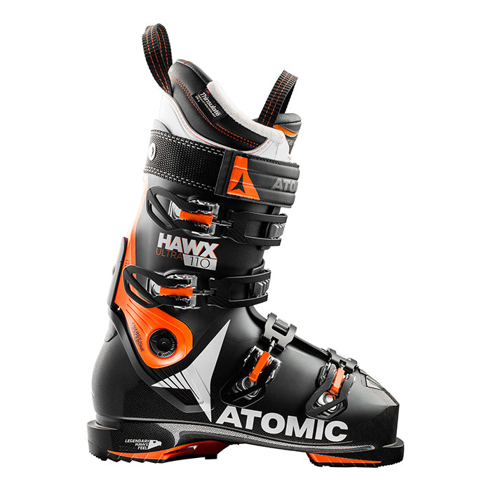Atomic Hawx Ultra 110 Mens Ski Boot - Black/Orange