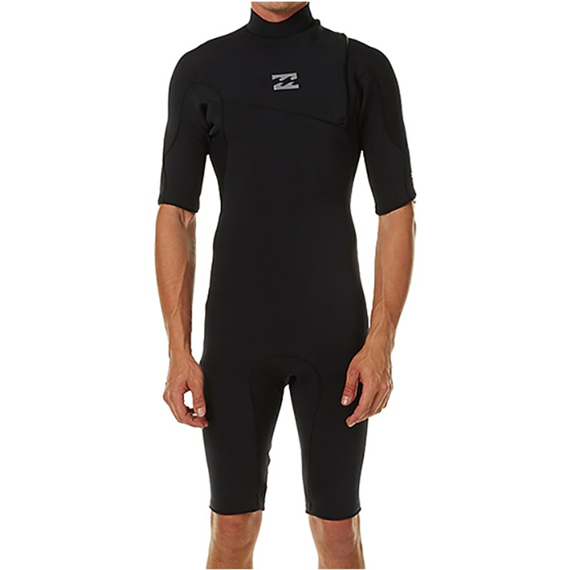 Billabong Furnace Pro 2mm Zipperless S/S Springsuit Mens - Black
