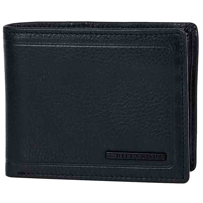 Billabong Scope 2 in 1 Wallet - Black Grain