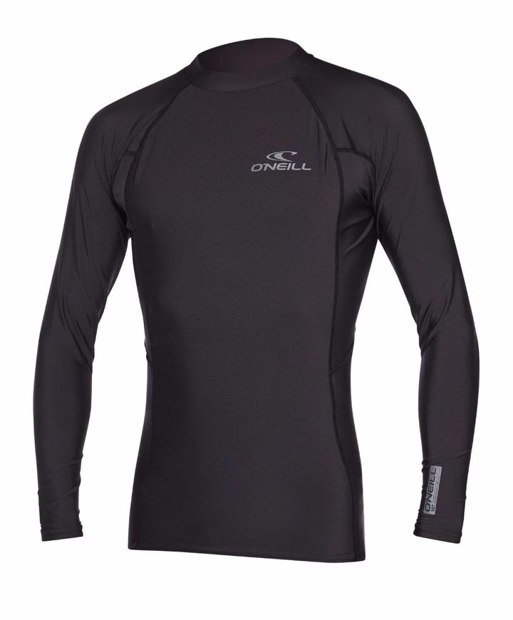 Oneill Youth Basic Skins LS Crew - Black