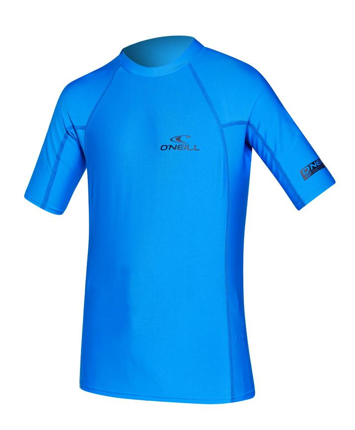 Oneill Youth Basic Skins SS Crew - 188 Brite Blue
