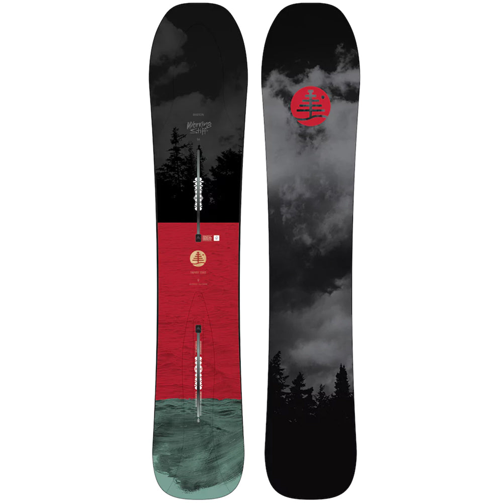 Burton Ft Working Stiff Snowboard Mens - 154 2019