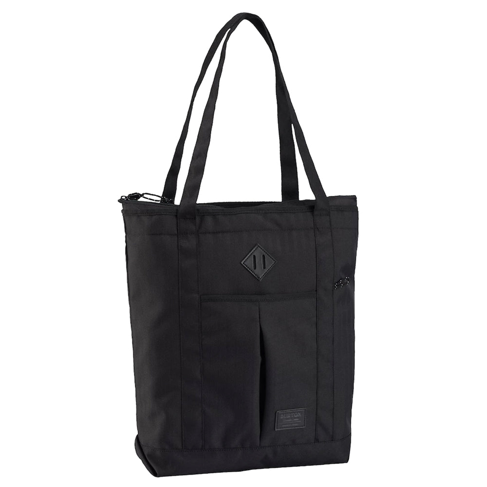 Burton Ns Zip Crate Tote - True Black Heather Twill