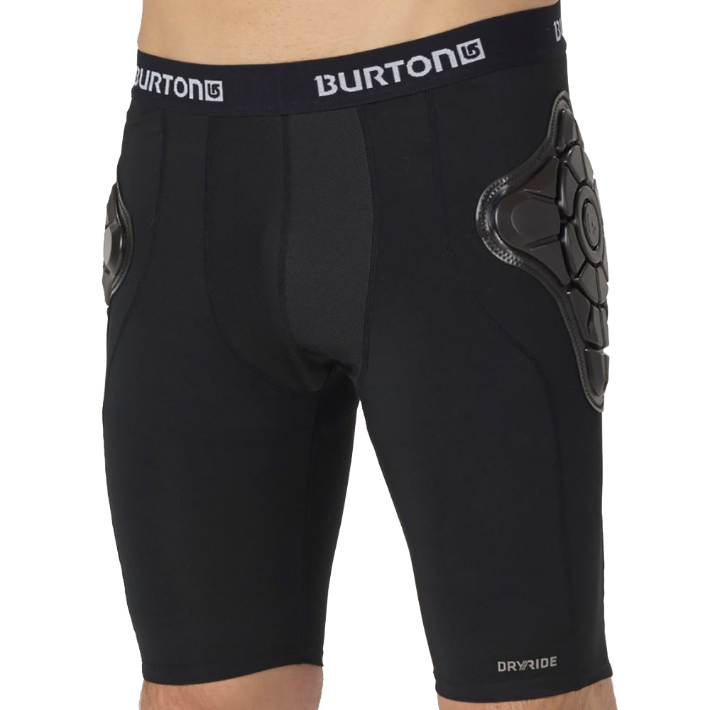 Burton Total Impact Shorts Mens - Black