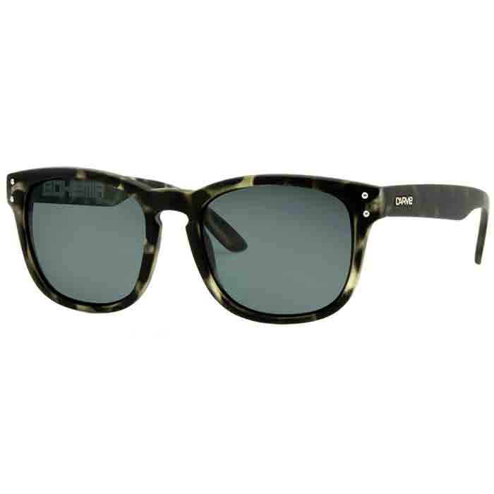 Carve Bohemia Sunglass - Black Tort/Grey Polarized