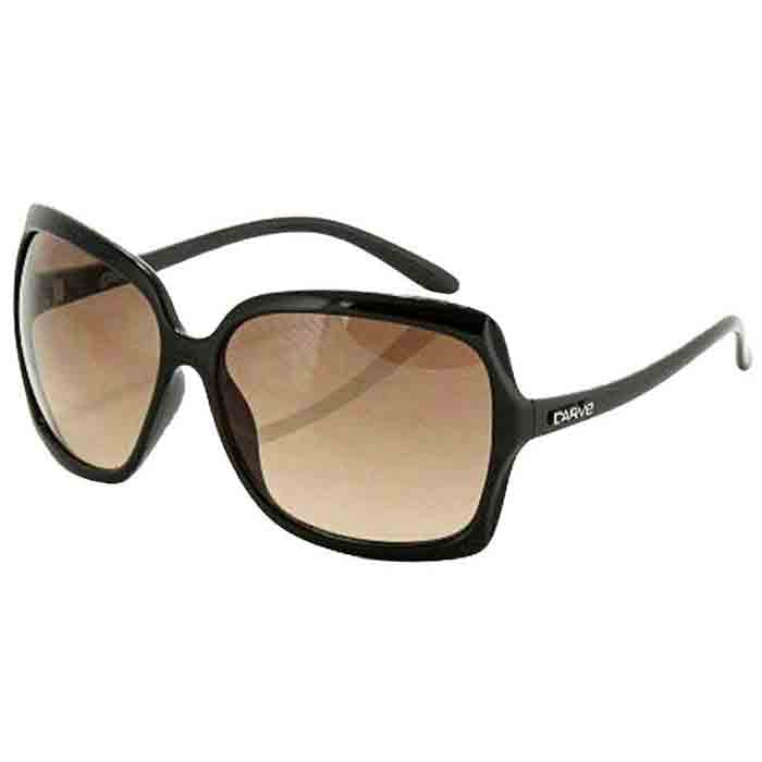 Carve Grace Sunglass - Black Grey Lens