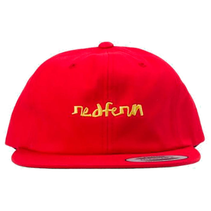 Chocolate Chunk The World Redfern Hat - Mens Red