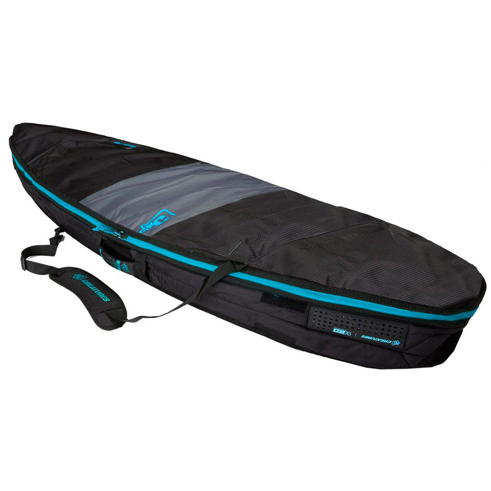 Creatures 6ft 3 Shortboard Day Use - Charcoal Cyan