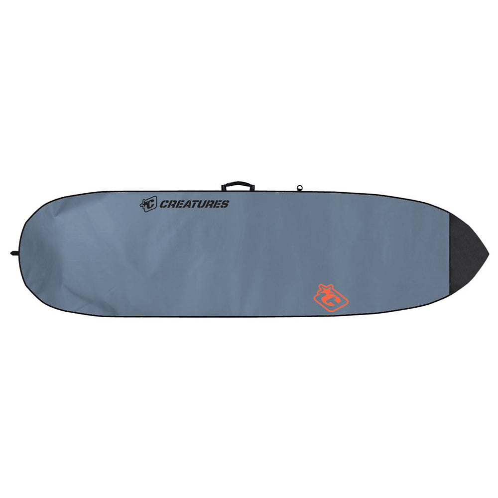 Creatures Shortboard Lite 6ft 7 - Charcoal/Orange