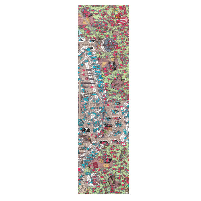 Fruity Griptape 9x33 - Wheres Wally Castle Siege Single Sheet