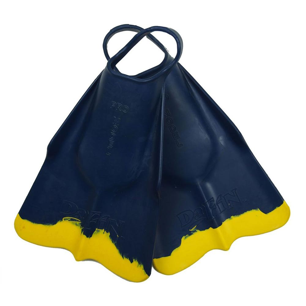 DaFin Swimfin - Navy Yellow