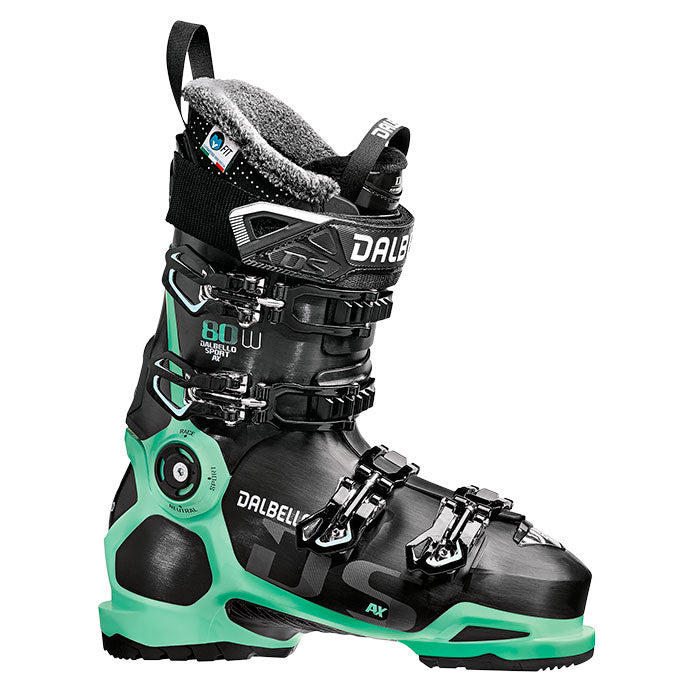 Dalbello DS 80 AX LS Ski Boots - Womens Black/Glacier Blue