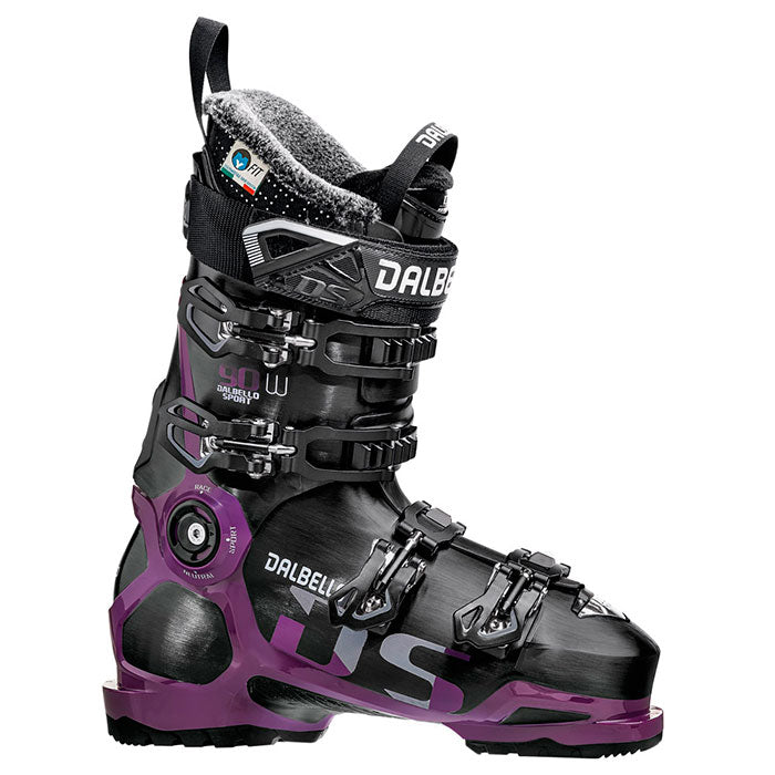 Dalbello DS 90 LS Ski Boots - Womens Black/Grape