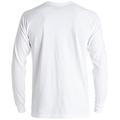 DC Slam City Long Sleeve Tshirt - White