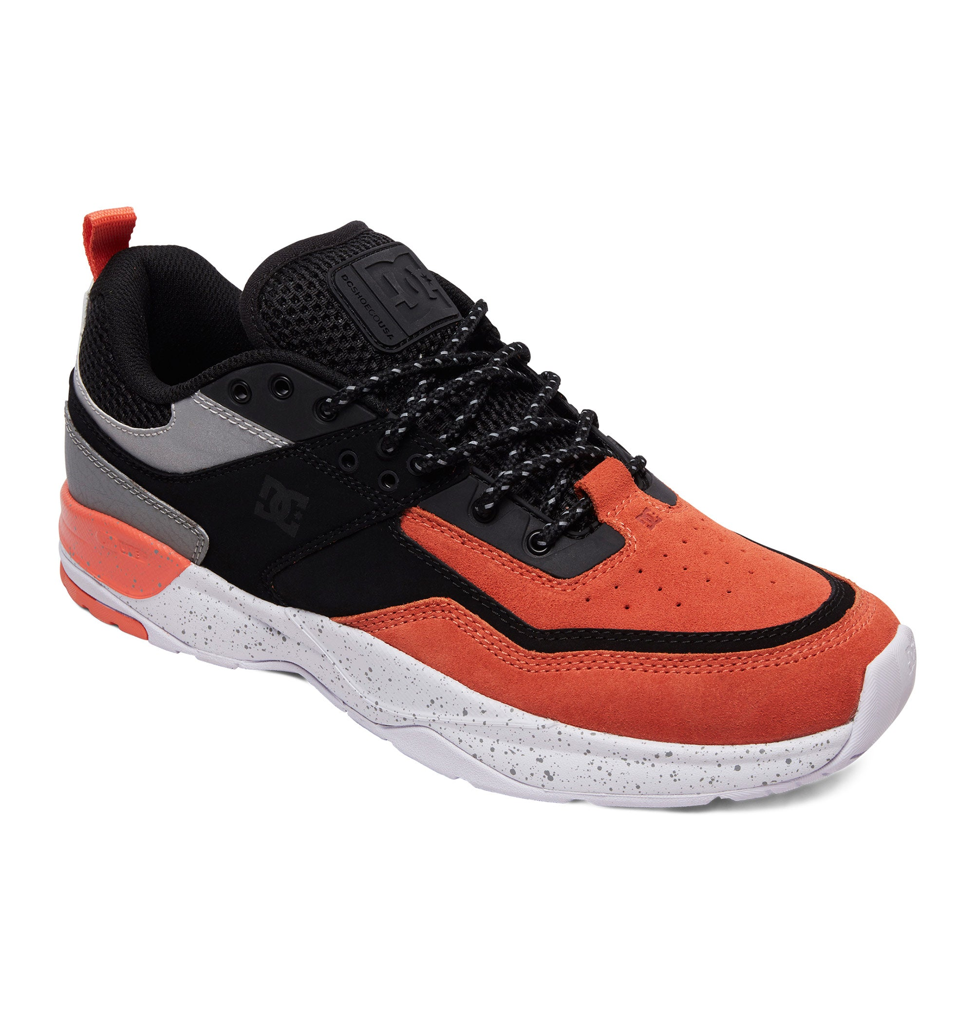 DC E.Tribeka SE Shoe Mens - Black/Orange