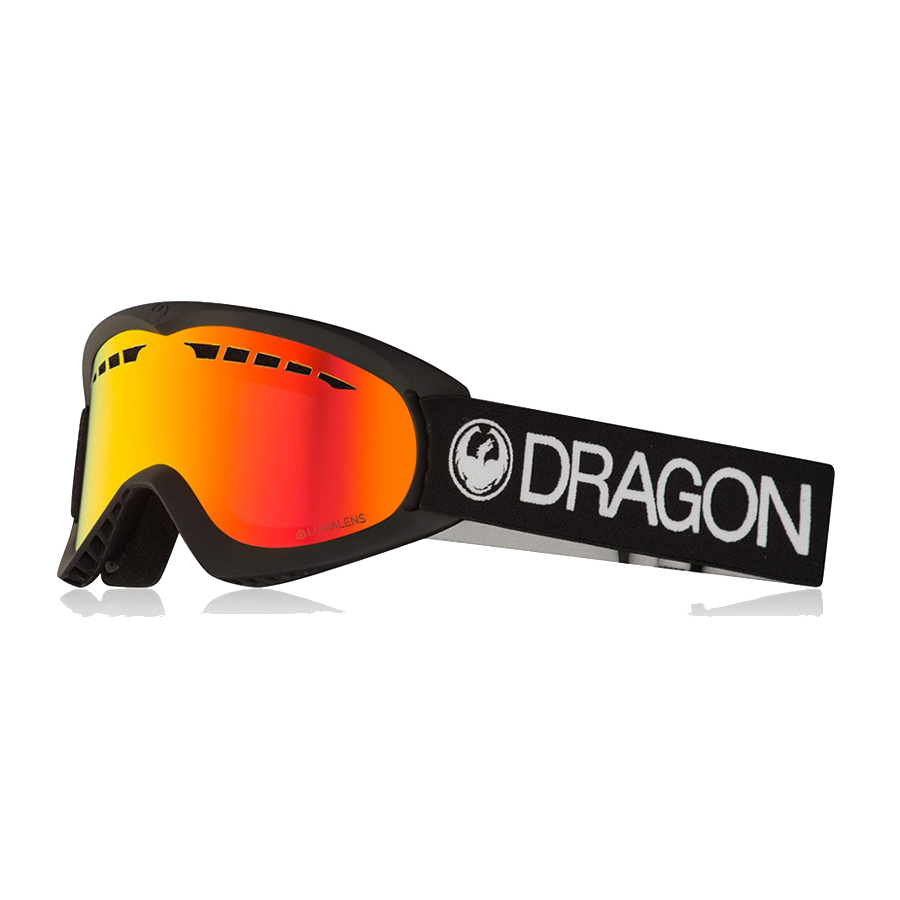 Dragon DX Goggle - Black/LL Red Ionised