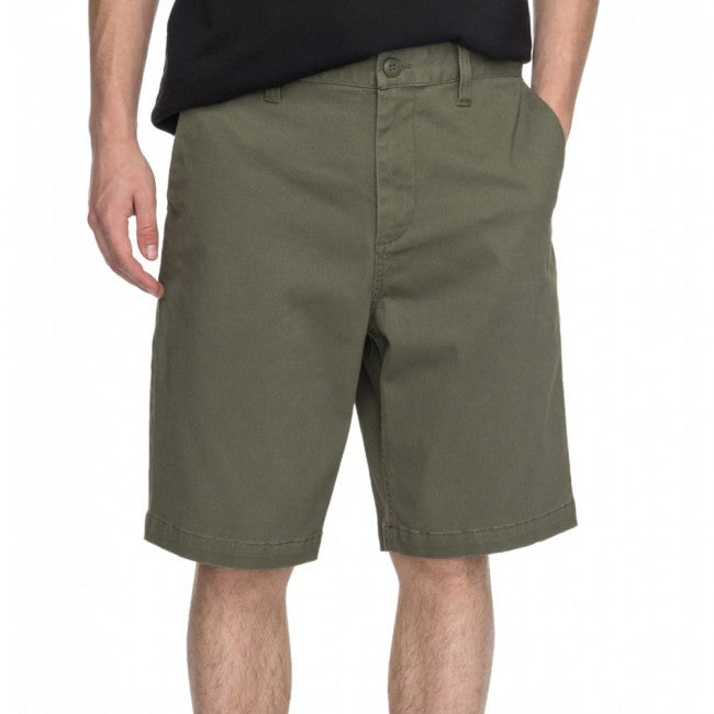 DC Worker Straight Shorts- Mens - Dark Olive