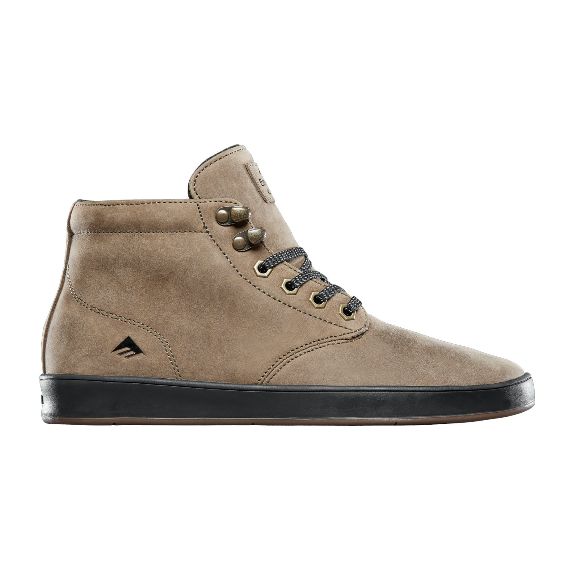 Emerica The Romero Laced High Shoes Mens - Brown/Gold/Black