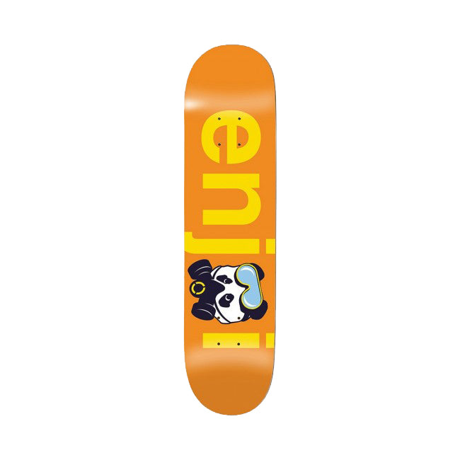 Enjoi No Brainer Gas Mask Deck - Orange - 8.0
