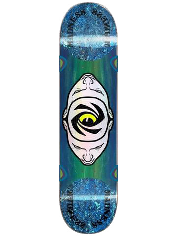 Madness Minds Eye Popsicle Stick Deck - 8.125 - Blue/Green