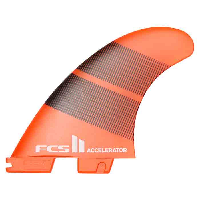 FCS II Accelerator Neo Glass Tang Gradiant Tri Fins - Large - MEMBERS PRICE