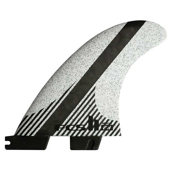 FCS II FW PC Carbon White Tri Fins