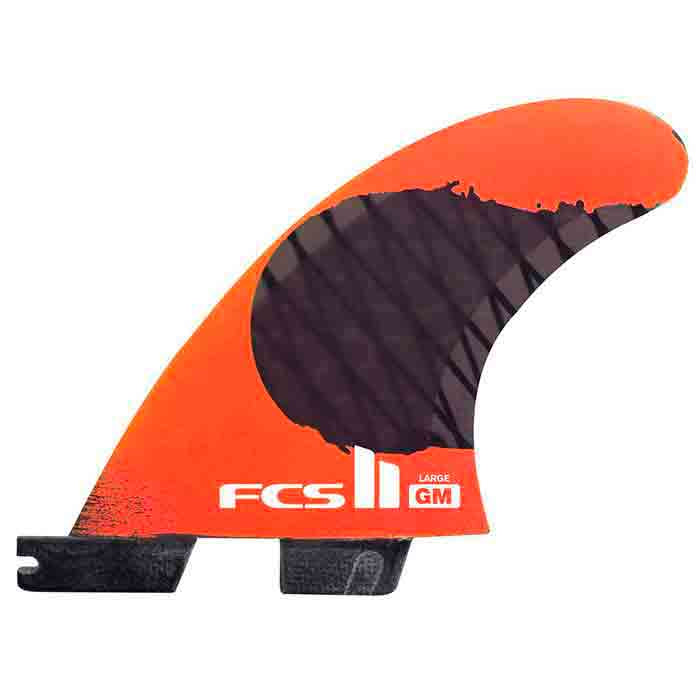FCS II GM PC Carbon Fluro Orange Tri Fin - XSmall - MEMBERS PRICE
