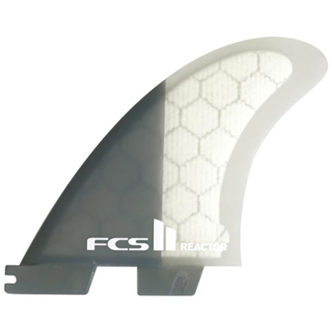 FCS II Reactor PC Tri Charcoal Fins - Medium