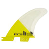 FCS II Carver PC Quad Yellow Fins - Medium