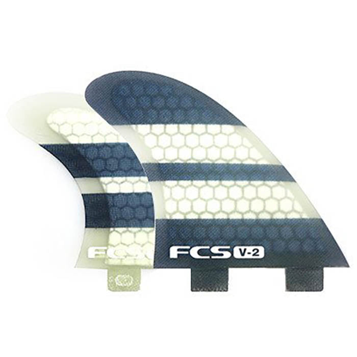 FCS V2 PC Quad Fin Set