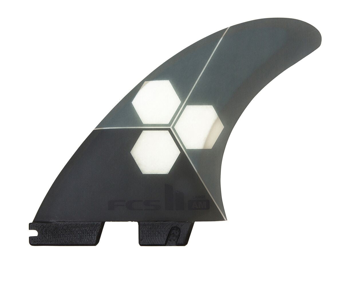 FCS II AM PC Grey Tri Fin - Medium