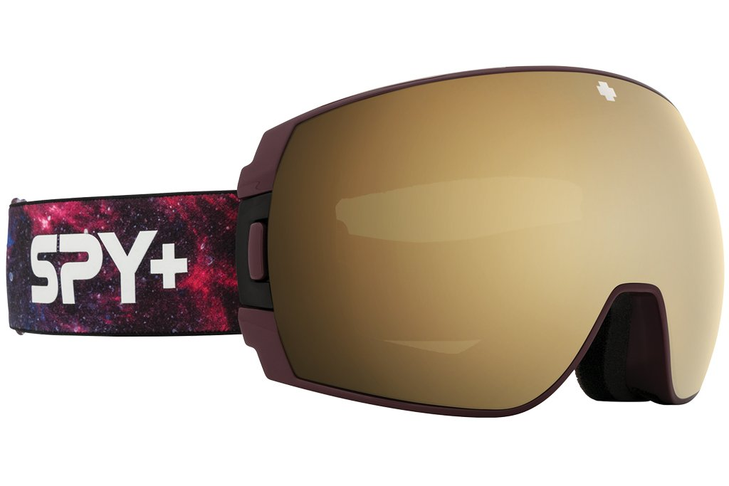 Spy Legacy SE- Galaxy Purple - HD Plus Bronze w/ Gold Spectra Mirror + HD Plus LL Persimmon w/ Silver Spectra Mirror