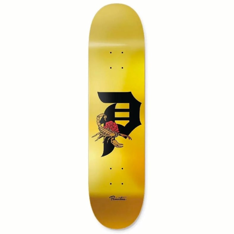 Primitive TM Dirt P Scorpion Deck 8.5