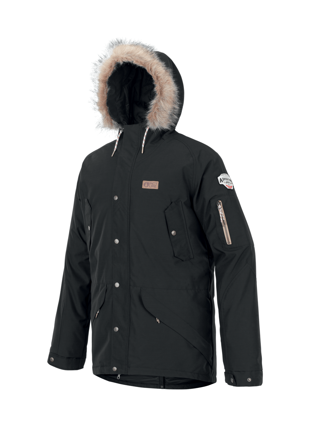 Picture Kodiac Mens Jacket - Black