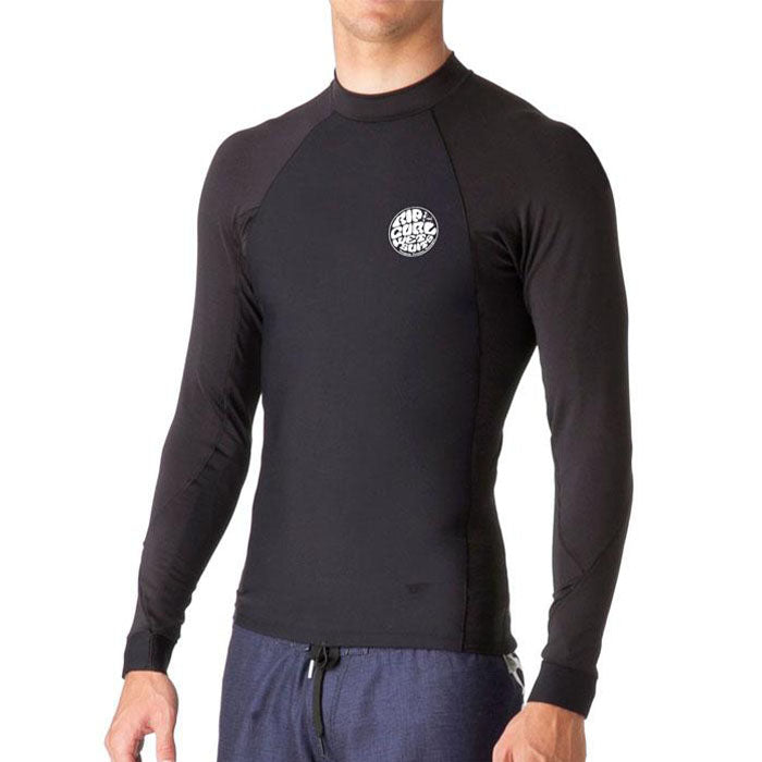 Rip Curl Flash Bomb Neo Poly Long Sleeve Jacket Mens- Black - STOCK INSTORE ONLY - CALL OR EMAIL