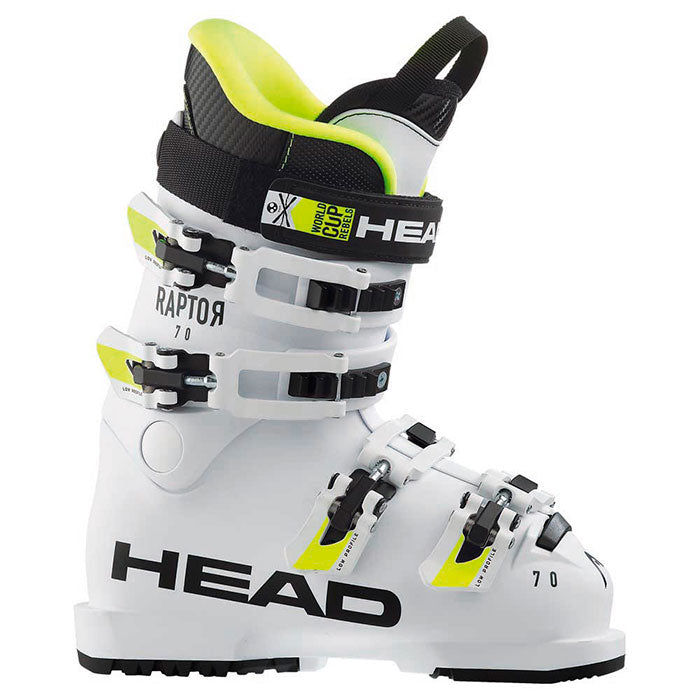 Head Raptor 70RS Junior Ski Boot - White - 2020