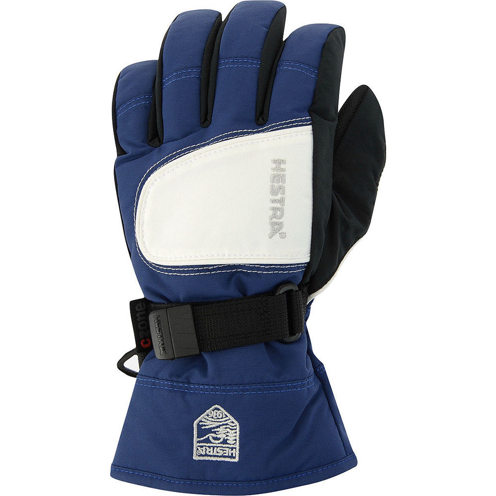 Hestra Czone Gloves Junior - Blue/Ivory