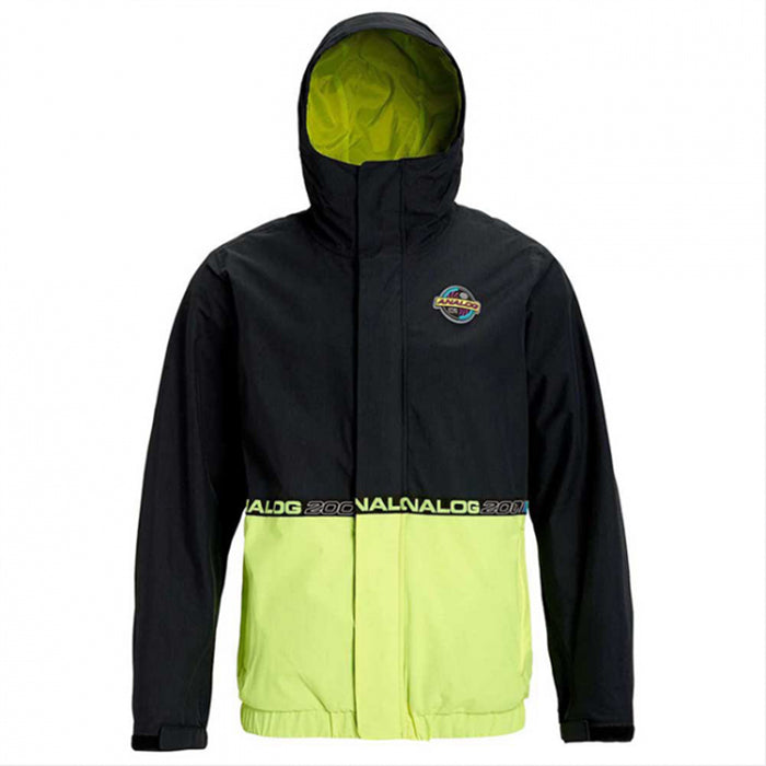 Analog Blast Cap Jacket Mens - True Black High Viz