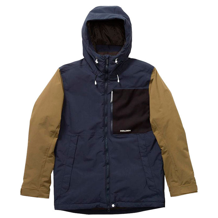 Holden Outpost Snow Jacket Mens - Navy/Olive/Black