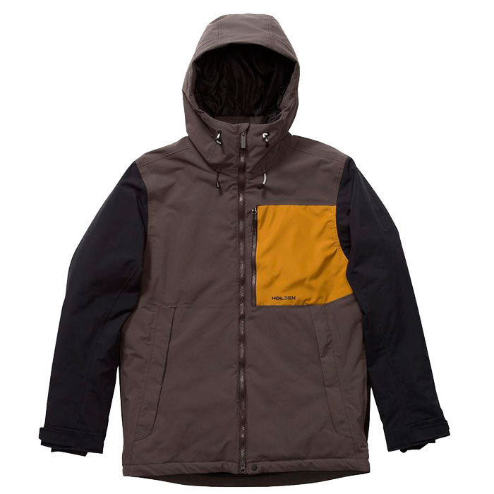 Holden Outpost Snow Jacket Mens - Shadow/Black/Mojave