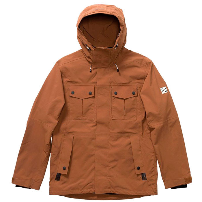 Holden Winfield Snow Jacket Mens - Bison