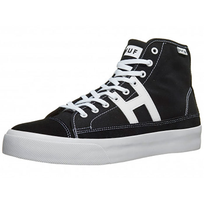 Huf Hupper 2 HI Shoes Mens - Black/White