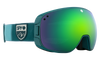 Spy Bravo - Colorblock Teal - HD Plus Bronze w/ Green Spectra Mirror + HD Plus LL Persimmon w/ Silver Spectra Mirror