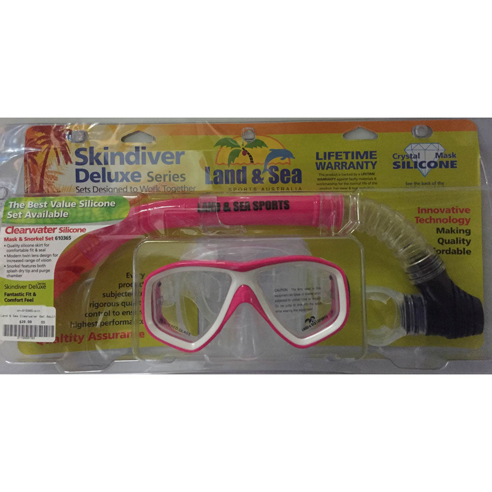 Land & Sea Clearwater Set Adults - Pink