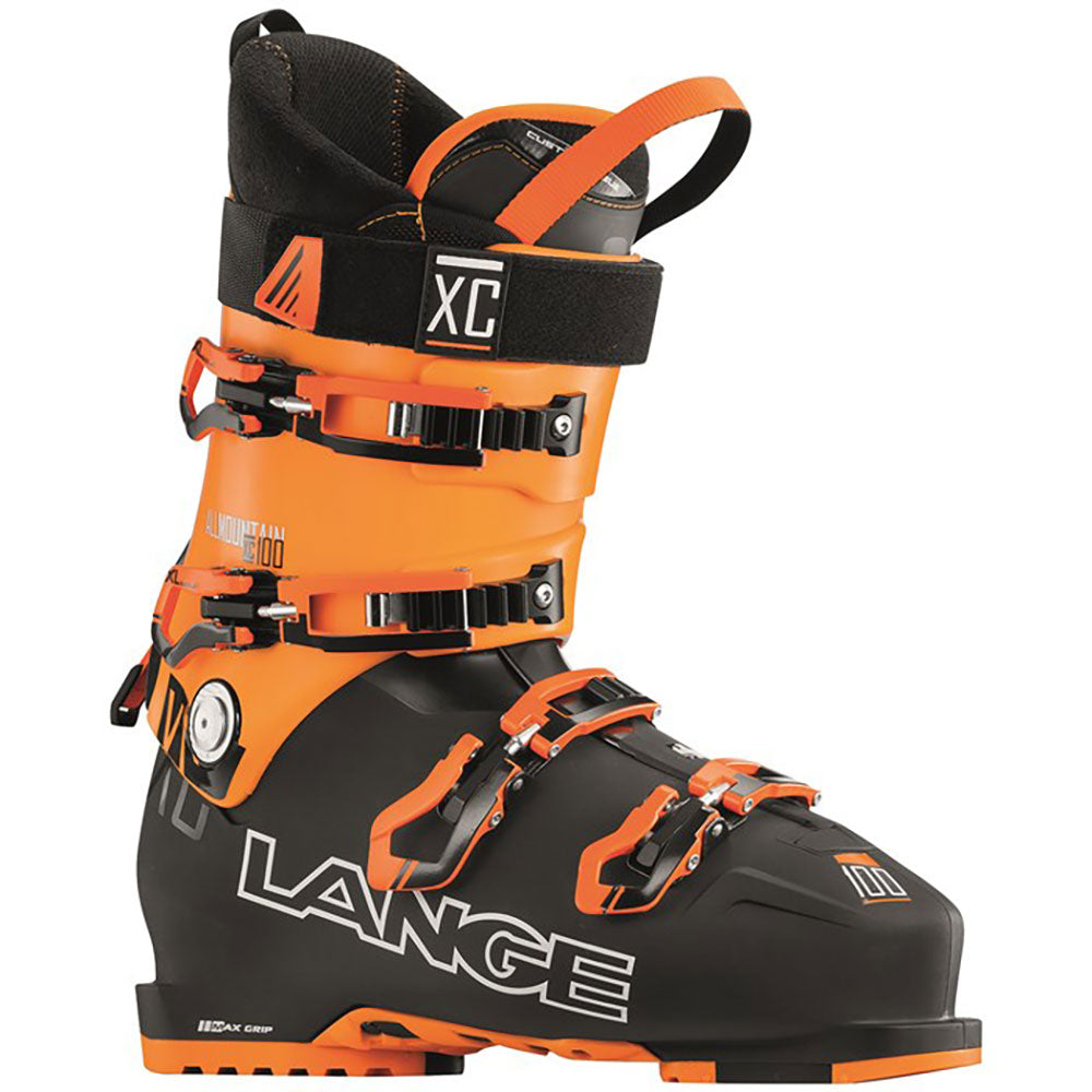 Lange XC 100 Mens Black Orange 2017