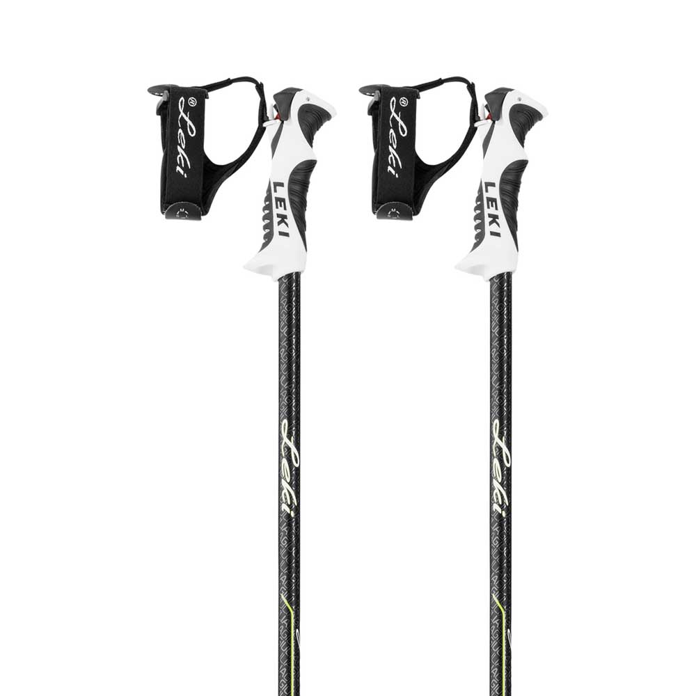 Leki Giullia S Ski Pole - White/Anthracite/Green