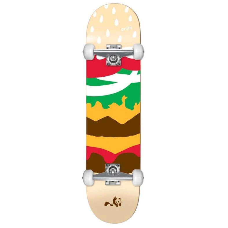Enjoi Burger Time Youth FP Complete - Multi - 7.375
