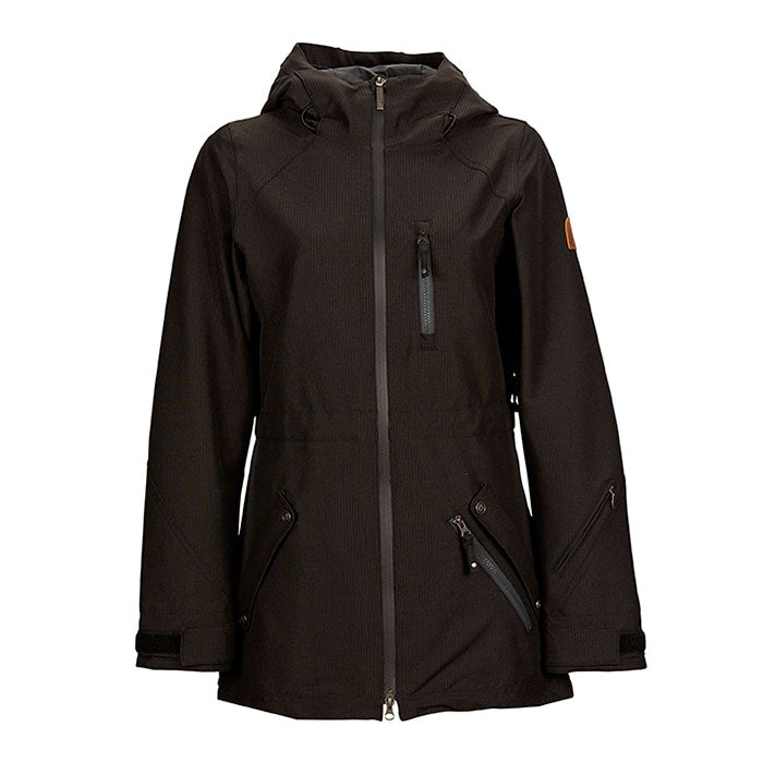 Nikita Hollyhock Stretch Snow Jacket - Womens - Black