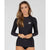 Oneill Basic Skins L/S Rash Womens - Black