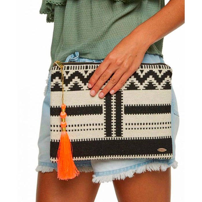 Oneill Tribal Clutch - Black/White